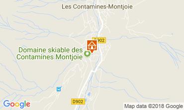 Map Les Contamines Montjoie Apartment 115234