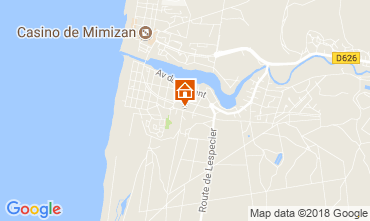 Map Mimizan House 24503