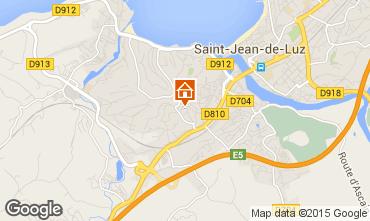 Map Saint Jean de Luz Apartment 95049