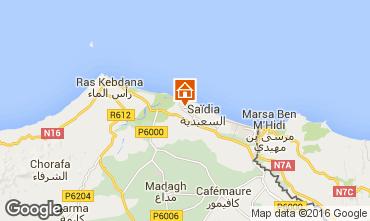 Map Saidia Apartment 93202