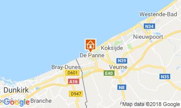 Map De Panne Villa 116743