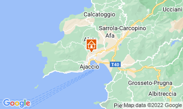 Map Ajaccio Apartment 107850