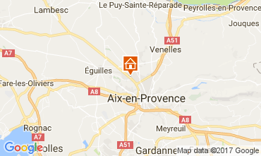 Map Aix en Provence Apartment 111513