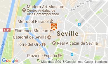 Map Seville Apartment 106199