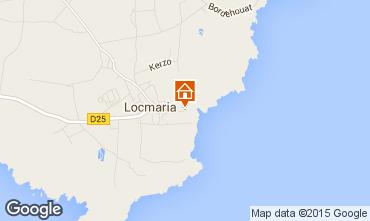 Map Locmaria House 53453