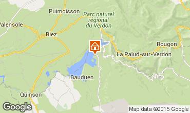 Map Les Salles sur Verdon Apartment 77282