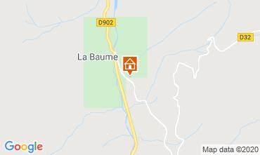 Map Saint Jean d'Aulps- La Grande Terche Chalet 517