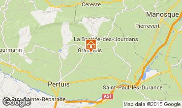Map La Tour d'Aigues Villa 88824