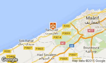 Map Casablanca Apartment 66528