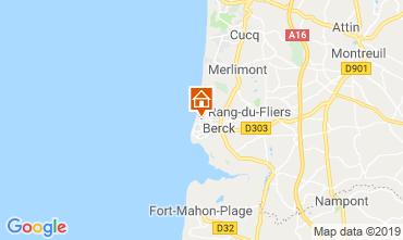Map Berck-Plage House 117942