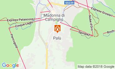 Map Madonna di Campiglio Studio apartment 106675