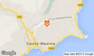 Map Sainte Maxime House 22491