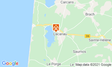 Map Lacanau House 6715