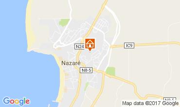 Map Nazaré Apartment 107623