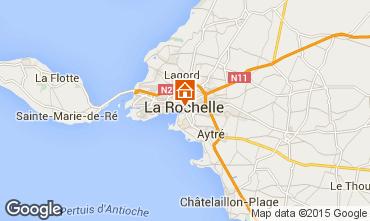 Map La Rochelle Apartment 47024