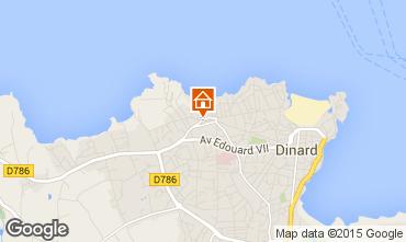 Map Dinard House 55527