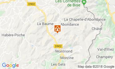 Map Morzine Chalet 116537