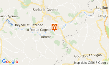 Map Domme Self-catering property 78613