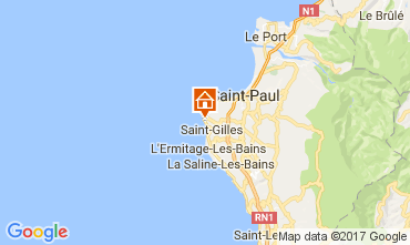 Map Saint Gilles Villa 9874