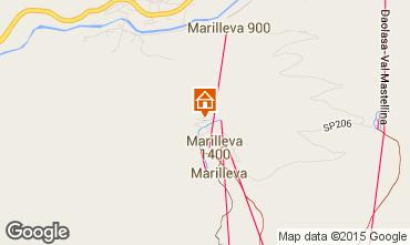 Map Marilleva Flat 74205