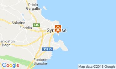 Map Syracuse Studio apartment 116828