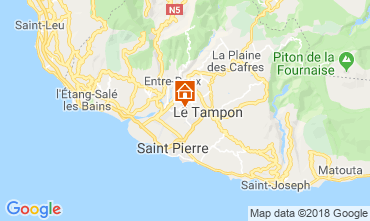 Map Saint Pierre (Réunion) Villa 117301