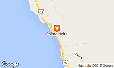 Map Pointe Noire Villa 27882