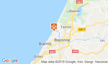 Map Anglet House 118179