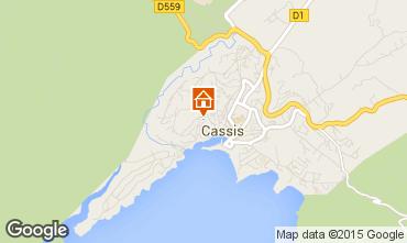 Map Cassis Flat 59359