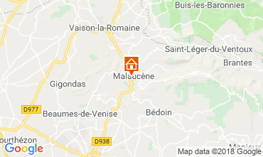 Map Malaucène House 116203
