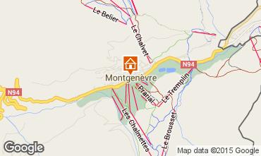 Map Montgenevre Apartment 59230