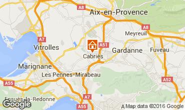 Map Aix en Provence Apartment 85504
