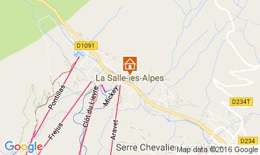 Map Serre Chevalier Chalet 50040