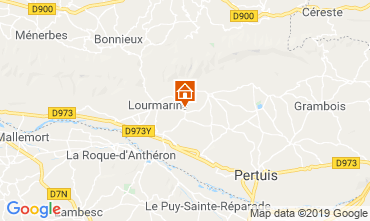 Map Lourmarin House 118893