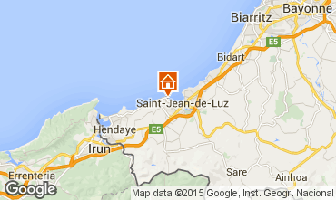 Map Saint Jean de Luz Flat 9306