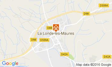 Map La Londe les Maures Villa 97056