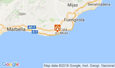 Map Mijas Apartment 115569