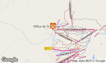 Map Chamrousse Apartment 100483