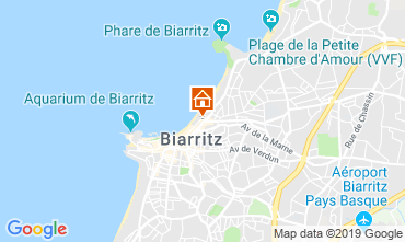 Map Biarritz Apartment 119058