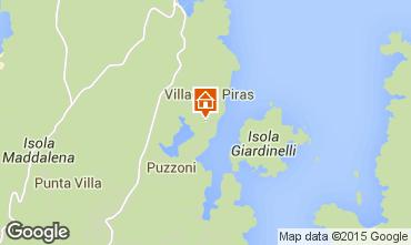 Map La Maddalena Apartment 52751