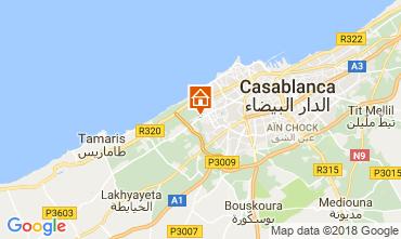 Map Casablanca Apartment 104225