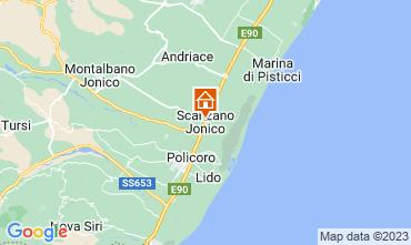 Map Policoro Apartment 41586