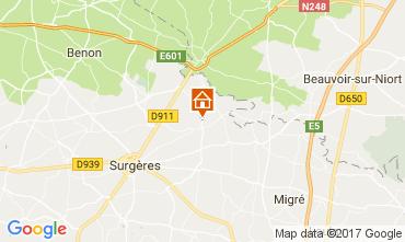 Map La Rochelle Villa 107743