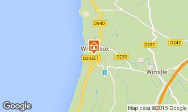 Map Wimereux Apartment 52949