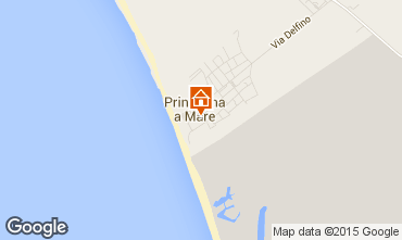 Map Principina a Mare Apartment 82306