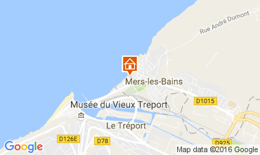 Map Mers Les bains Apartment 107008
