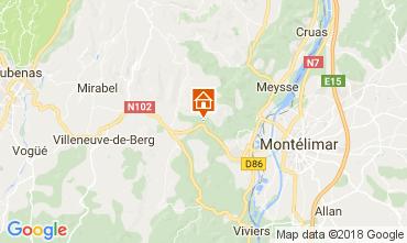 Map Vallon-Pont-D'Arc Villa 112399