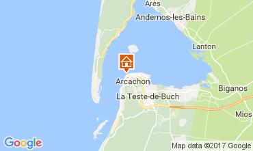 Map Arcachon Apartment 108450