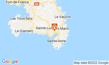 Map Le Marin Villa 73475