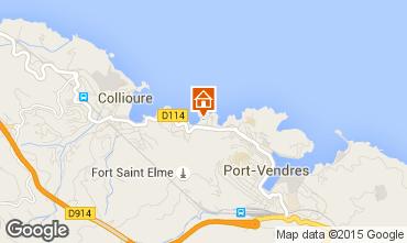 Map Collioure Flat 68403